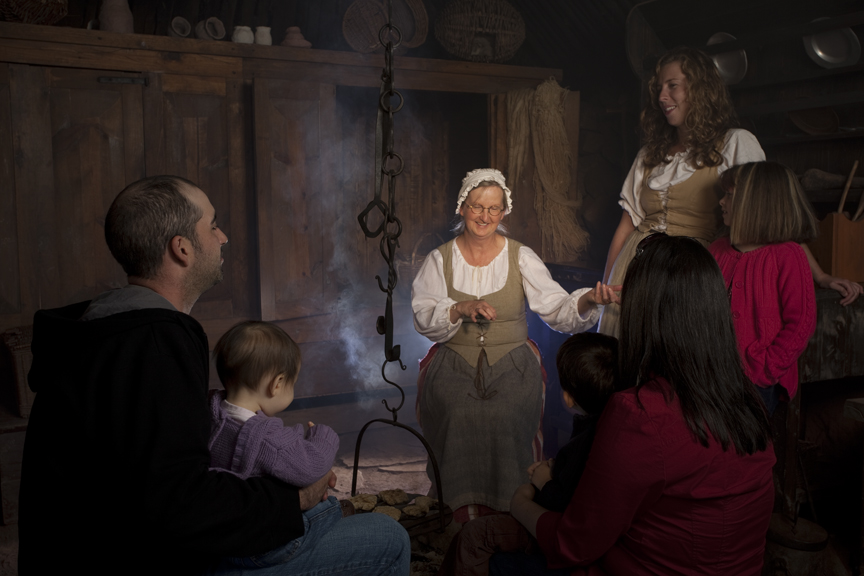 Highland Village Storytelling in Blackhouse