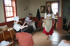 Traditional Scottish Gaelic Ceilidh at Highland Village