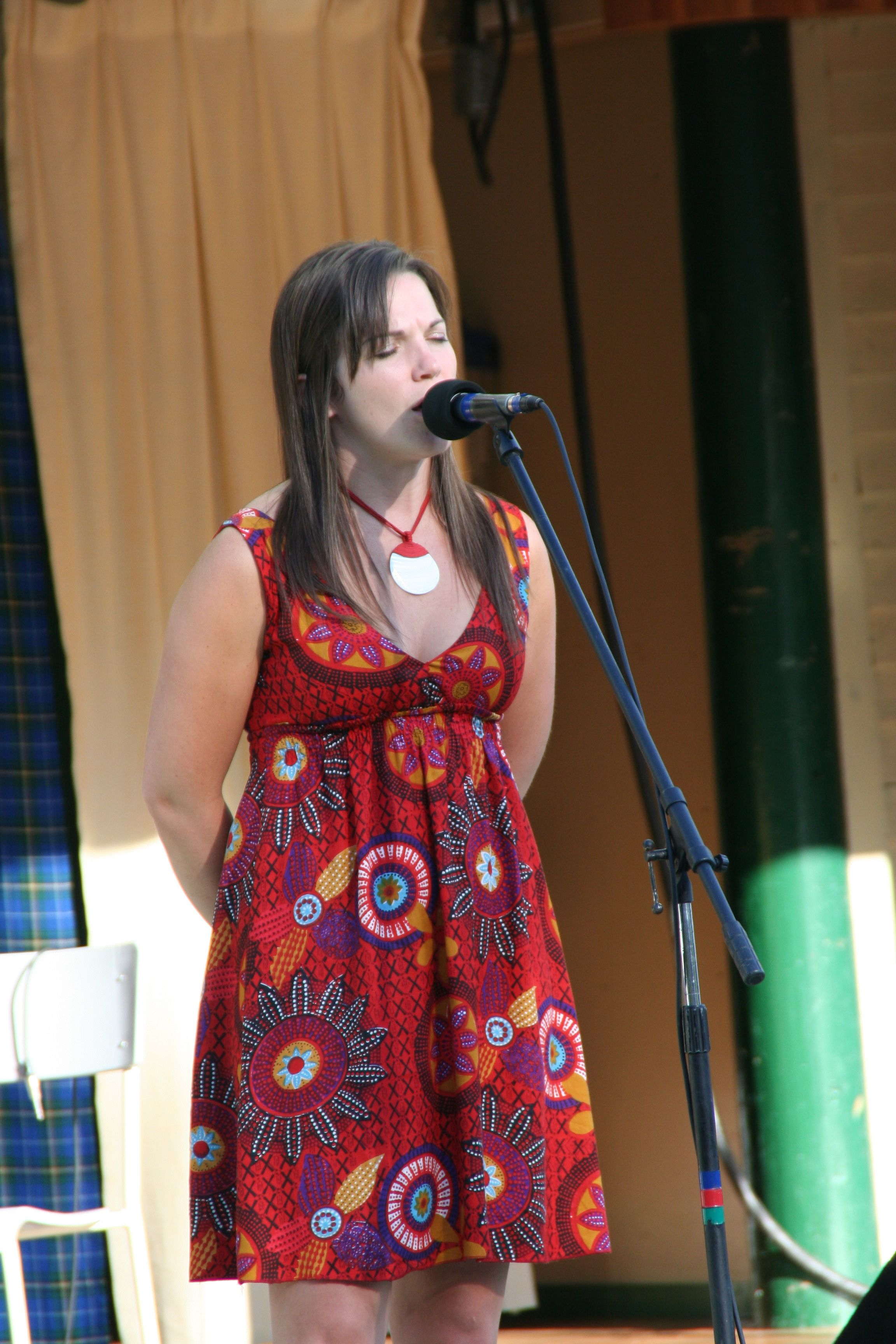 Traditional Gaelic Singing at Highland Village Day Concert